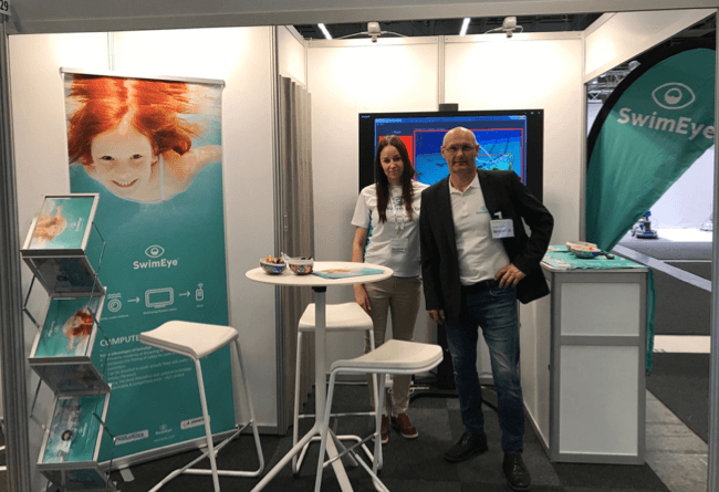 SwimEye exhibits in Sweden