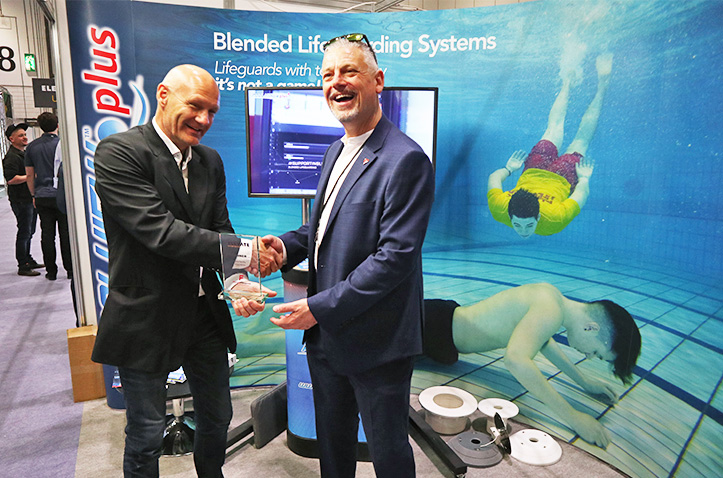 SwimEye & Poolview awarded at Elevate London