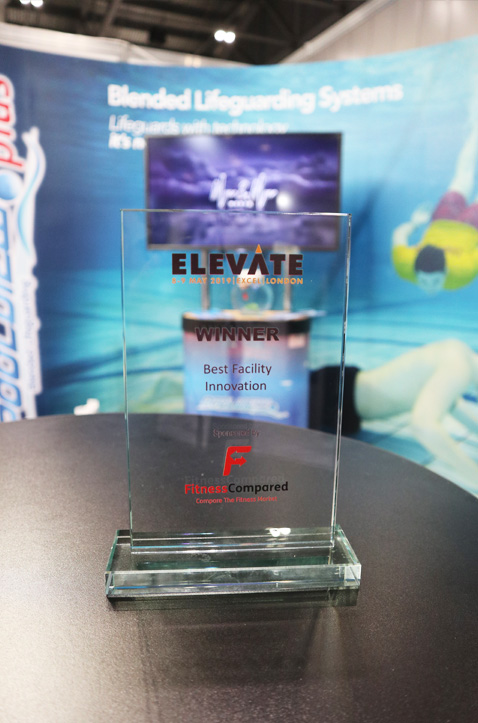 elevate-london-2019-leisure-fair-best-innovation-poolview-swimeye-swimming-pool-safety